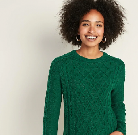 Today Only! 50% Off All Sweaters.