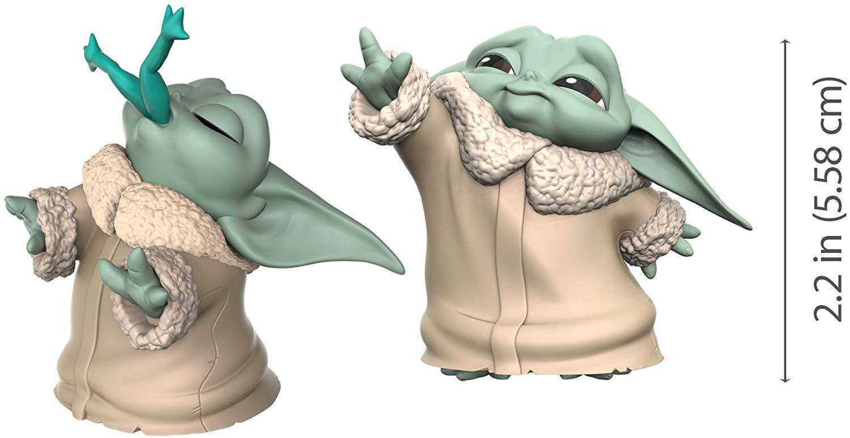 Baby Yoda and Frog
